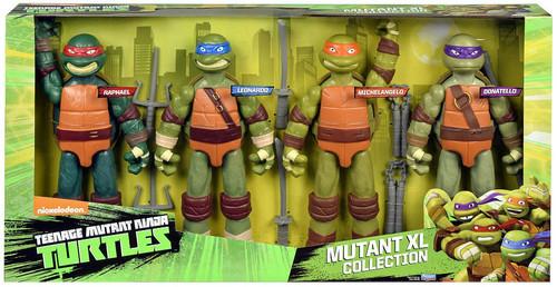 Teenage Mutant Ninja Turtles Nickelodeon Mutant XL Collection Exclusive Action Figure 4-Pack