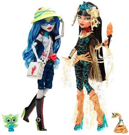 Monster High Cleo De Nile & Ghoulia Yelps Exclusive Doll 2-Pack