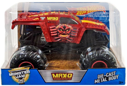 Hot Wheels Monster Jam Max-D Die-Cast Car