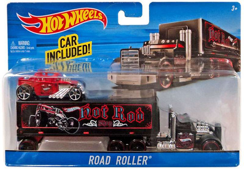 Hot Wheels Road Roller Die-Cast Car