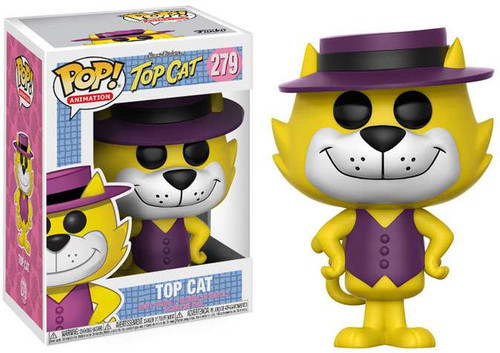Funko Hanna-Barbera POP! Animation Top Cat Vinyl Figure #279 [Purple Hat, Regular Version]