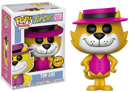 Funko Hanna-Barbera POP! Animation Top Cat Vinyl Figure #279 [Pink Hat, Chase Version]