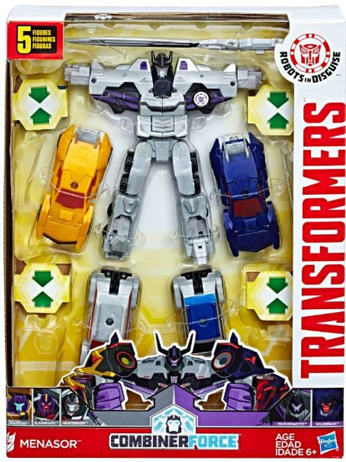 Transformers Robots in Disguise Combiner Force Menasor Action Figure