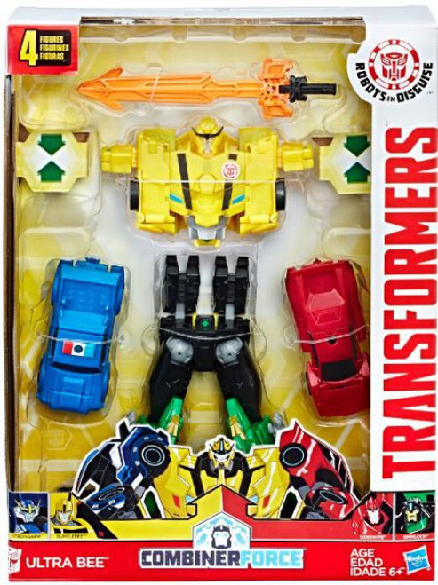 Transformers Robots in Disguise Combiner Force Ultra Bee Action Figure