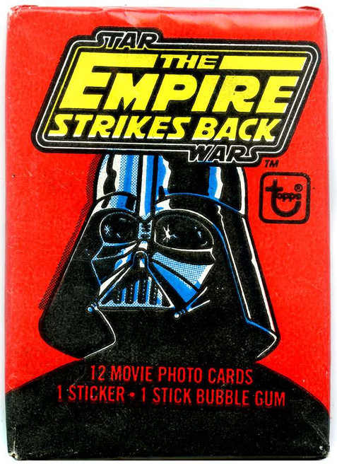 Star Wars Topps The Empire Strikes Back Trading Card Pack [12 Cards!]