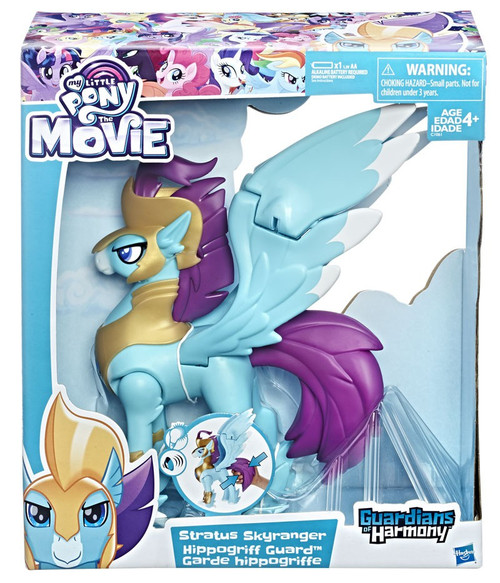 My Little Pony Guardians of Harmony The Movie Stratus Skyranger Hippogrigg Guard Figure