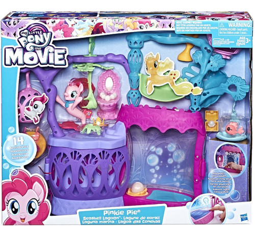 My Little Pony The Movie Seashell Lagoon 6-Inch Playset