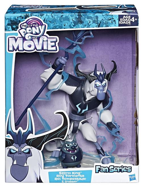 My Little Pony The Movie Fan Series Storm King & Grubber Figure
