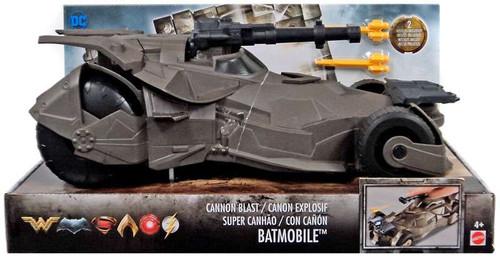 DC Justice League Movie Cannon Blast Batmobile Action Figure Vehicle