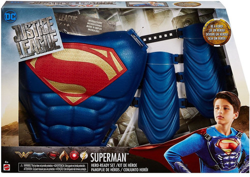 DC Justice League Movie Superman Hero Ready Roleplay Set