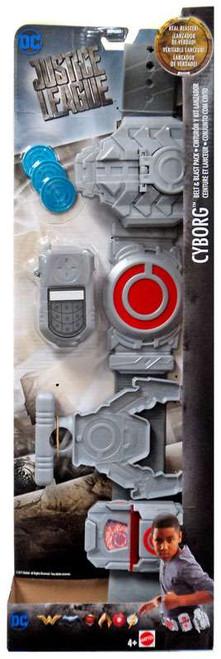 DC Justice League Movie Cyborg Belt & Blast Pack