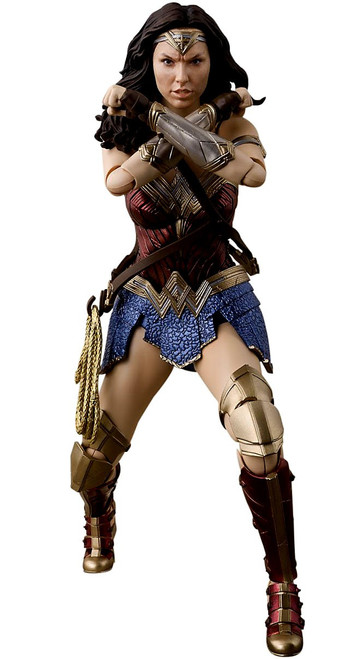 DC Justice League S.H. Figuarts Wonder Woman Action Figure [Justice League]