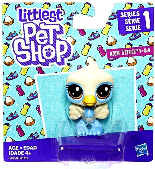 Littlest Pet Shop Series 1 Azure O'Strich #84