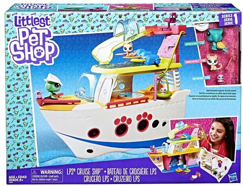 Littlest Pet Shop Cruise Ship Playset