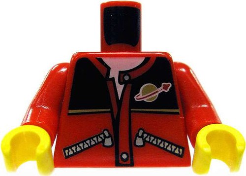 LEGO Red Jacket with Planet Logo Minifigure Accessories [Loose]