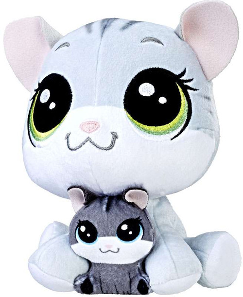 Littlest Pet Shop Plush Pairs Tabsy Felino & Holiday Felino 6-Inch Plush
