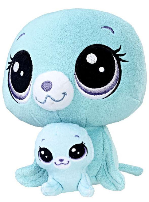Littlest Pet Shop Plush Pairs Vita Arcticson & Pinney Arcticson 6-Inch Plush