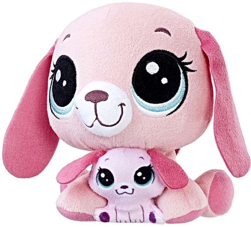 Littlest Pet Shop Plush Pairs Holly Hownder & Bitsy Hownder 6-Inch Plush