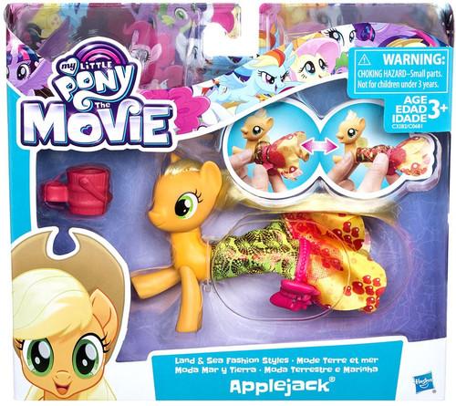 My Little Pony The Movie Applejack Land & Sea Figure