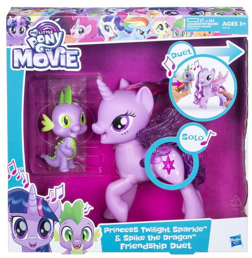 My Little Pony The Movie Princess Twilight Sparkle & Spike the Drago Friendship Duet Set