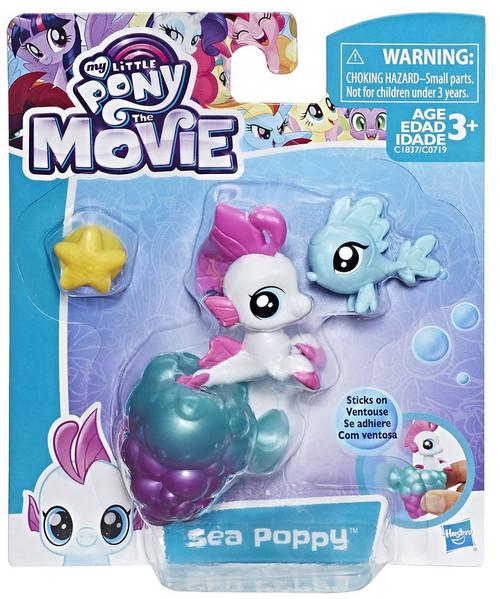 My Little Pony The Movie Sea Poppy Baby Seapony Mini Figure