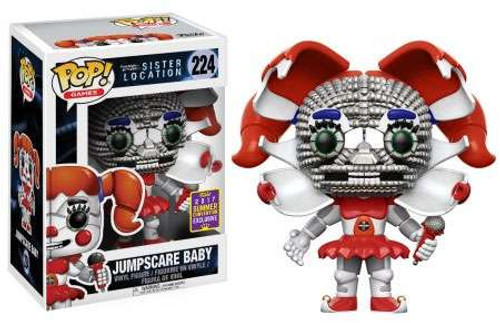 Funko Five Nights at Freddy's Sister Location POP! Games Jumpscare Baby Exclusive Vinyl Figure #224 [Damaged Package]