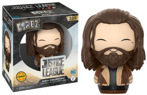 Funko DC Justice League Dorbz Aquaman Vinyl Figure #350 [Brown Jacket Chase Version]