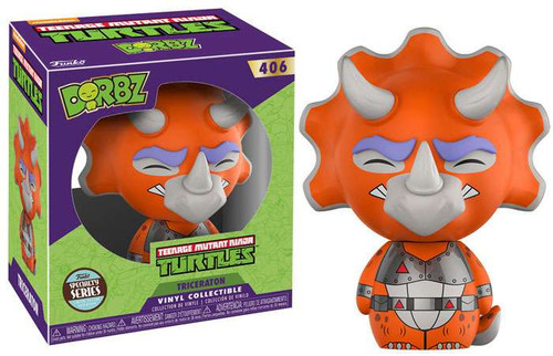 Funko Teenage Mutant Ninja Turtles Dorbz Triceratons Exclusive Vinyl Figure #406 [Specialty Series]