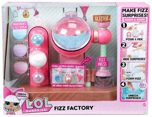 LOL Surprise Fizz Factory Playset [Works with Charm Fizz Balls!]