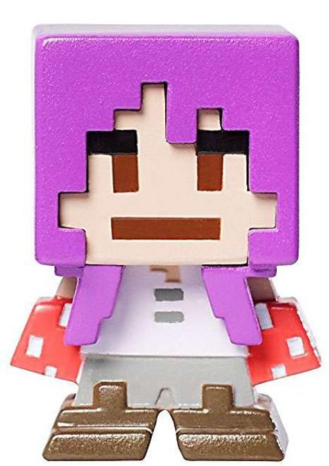 Minecraft Biome Settlers Series 8 Mooshroom Brawler 1-Inch Mini Figure [Loose]