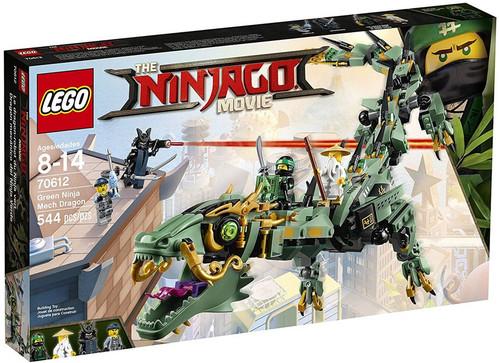 LEGO The Ninjago Movie Green Ninja Mech Dragon Set #70612