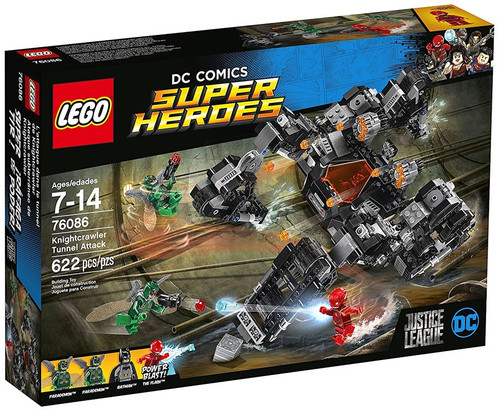 LEGO DC Super Heroes Knightcrawler Tunnel Attack Set #76086