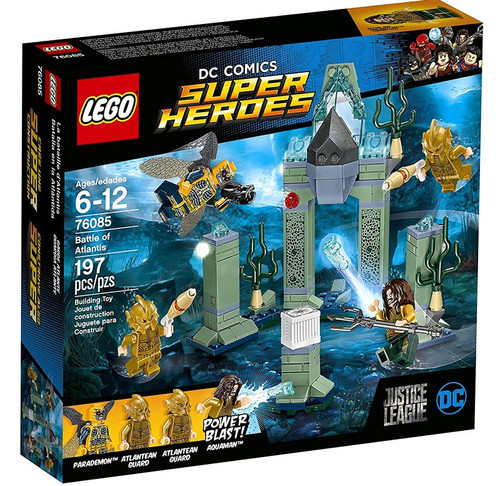 LEGO DC Justice League Super Heroes Battle of Atlantis Set #76085