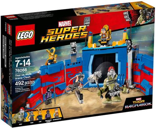 LEGO Marvel Super Heroes Thor vs. Hulk: Arena Clash Set #76088