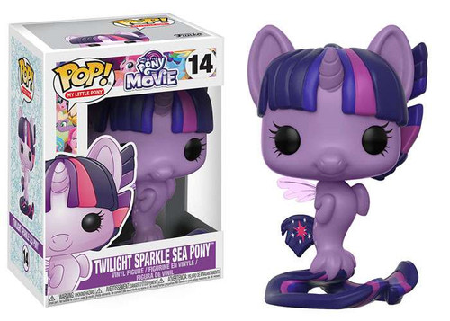 Funko The Movie POP! My Little Pony Twilight Sparkle Sea Pony Vinyl Figure #14 [Regular Version]