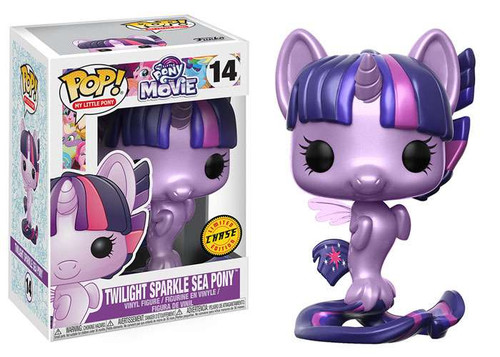 Funko The Movie POP! My Little Pony Twilight Sparkle Sea Pony Vinyl Figure #14 [Metallic, Chase Version]
