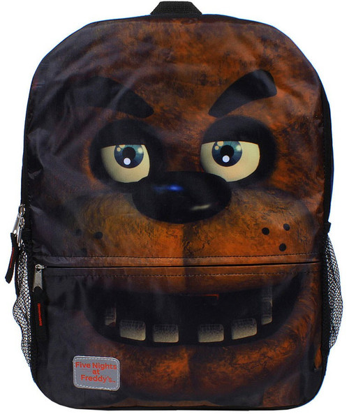 Five Nights at Freddy's Gusset Print Freddy Backpack