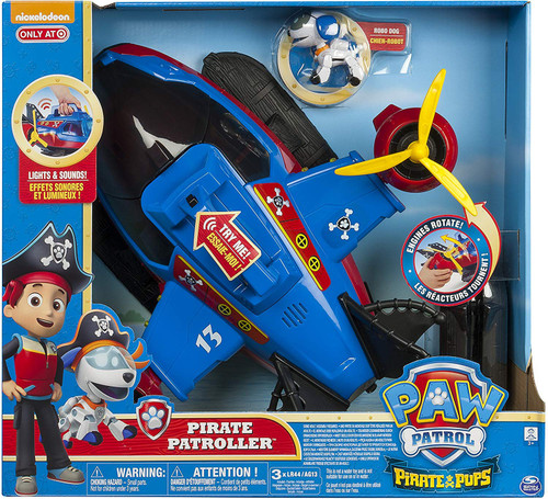 Paw Patrol Pirate Pups Pirate Patroller Exclusive Vehicle Playset