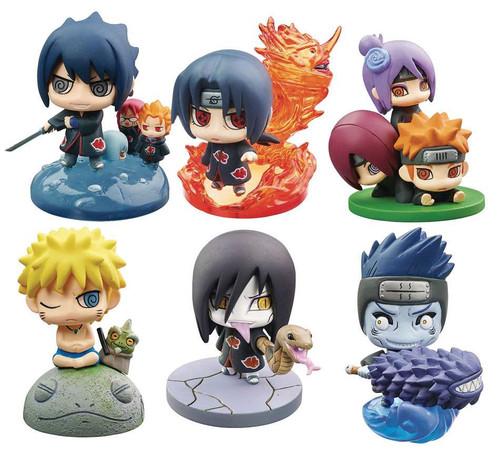 Naruto Shippuden Petit Chara Land Akatsuki Part 2 2.5-Inch Mini PVC Figure Mystery Pack [1 RANDOM Figure]