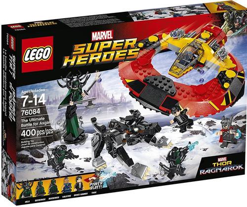 LEGO Marvel Super Heroes Thor Ragnarok The Ultimate Battle for Asgard Set #76084