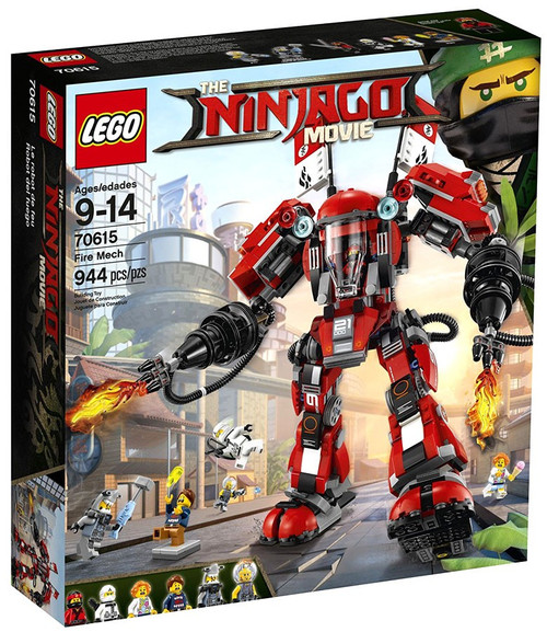LEGO The Ninjago Movie Fire Mech Set #70615