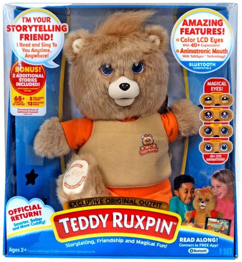 Teddy Ruxpin Exclusive Electronic Plush Figure [Original Outfit]