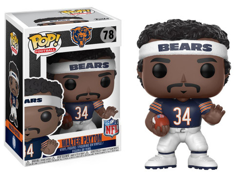 Funko NFL Chicago Bears POP! Sports Football Walter Payton Vinyl Figure #78 [Blue Jersey]