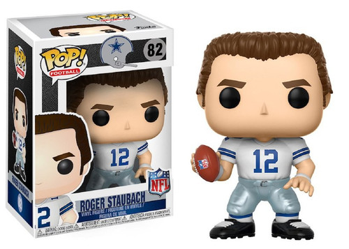 Funko NFL Dallas Cowboys POP! Sports Football Roger Staubach Vinyl Figure #82 [White Jersey]