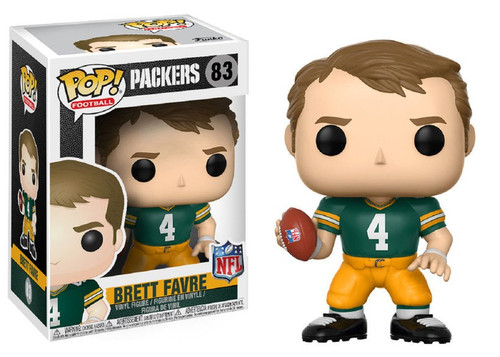 Funko NFL Green Bay Packers POP! Sports Football Brett Favre Vinyl Figure #83 [Green Jersey]