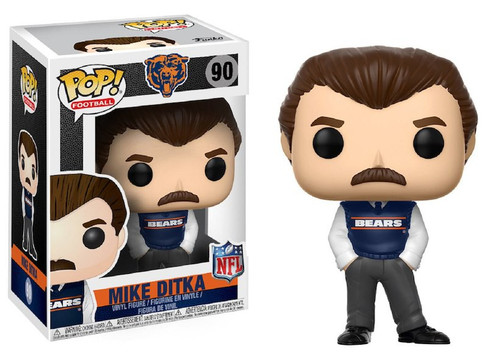 Funko NFL Chicago Bears POP! Sports Football Mike Ditka Vinyl Figure #90