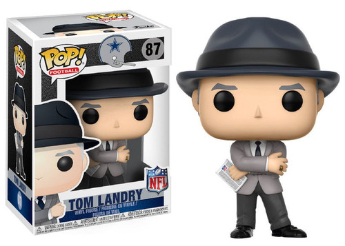 Funko NFL Dallas Cowboys POP! Sports Football Tom Landry Vinyl Figure #87