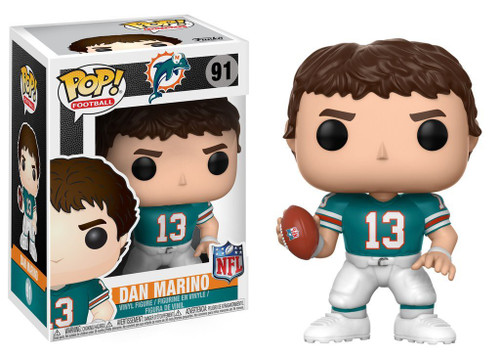 Funko NFL Miami Dolphins POP! Sports Football Dan Marino Vinyl Figure #91