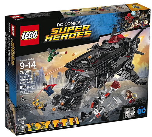 LEGO DC Super Heroes Justice League Flying Fox: Batmobile Airlift Attack Set #76087