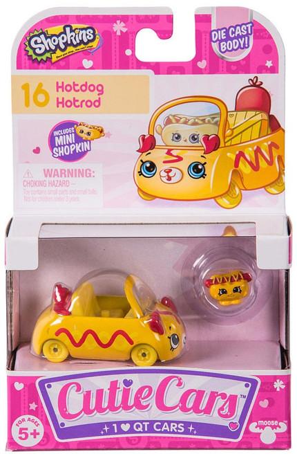 Shopkins Cutie Cars Hotdog Hotrod Figure Pack #16